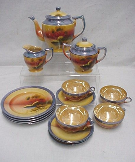 1000 Images About Lusterware On Pinterest Pottery