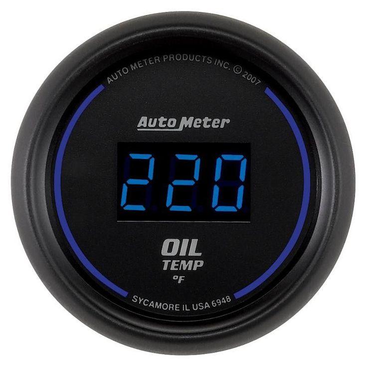 Autometer Cobalt Digital 52 4mm 0