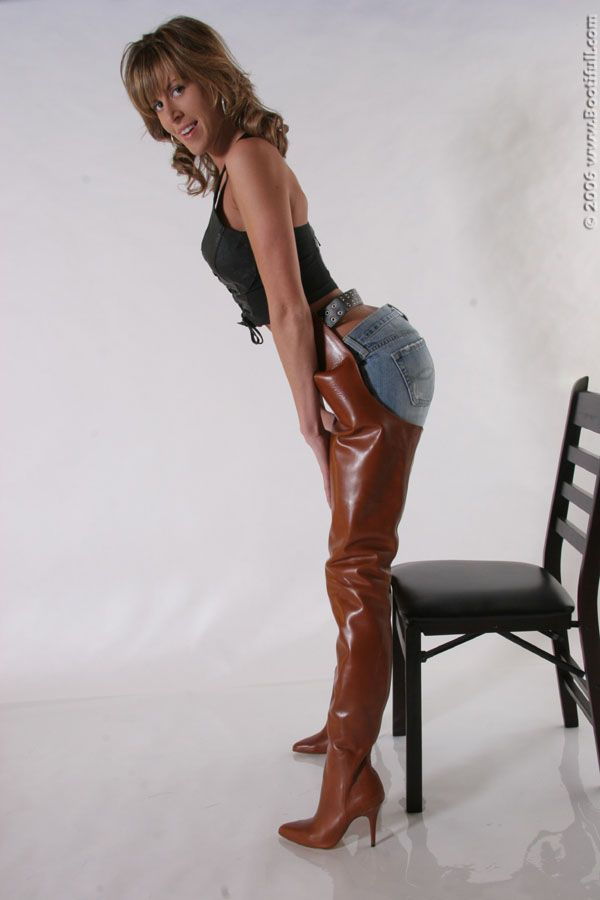Pin By Totof Brawn On Chaps Crotch Boots Pinterest