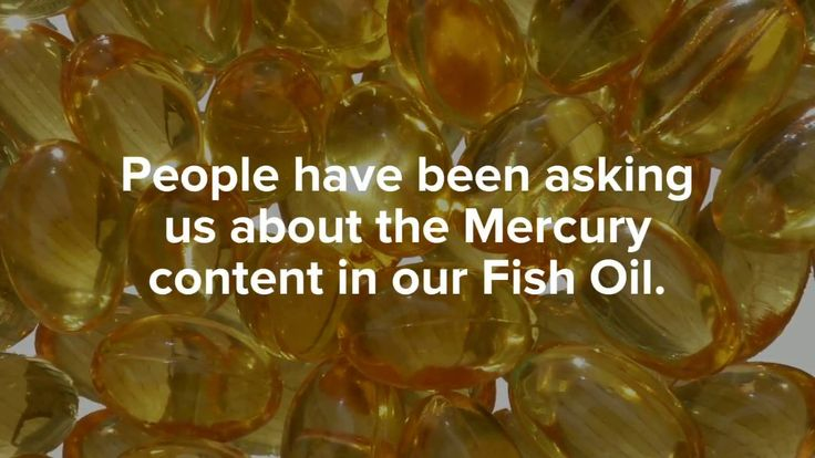 No Mercury, Lead, or Cadmium is found in our Extra Virgin Fish Oil after being tested by both ALS Food & Pharmaceutical and BioDetection Systems. We post our lab results on our website!