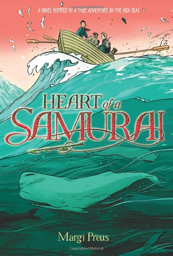 an analysis of the heart of a samurai by margi preus In 1841, a japanese fishing vessel sinks its crew is forced to swim to a small,  unknown island, where they are rescued by a passing american ship japan's.