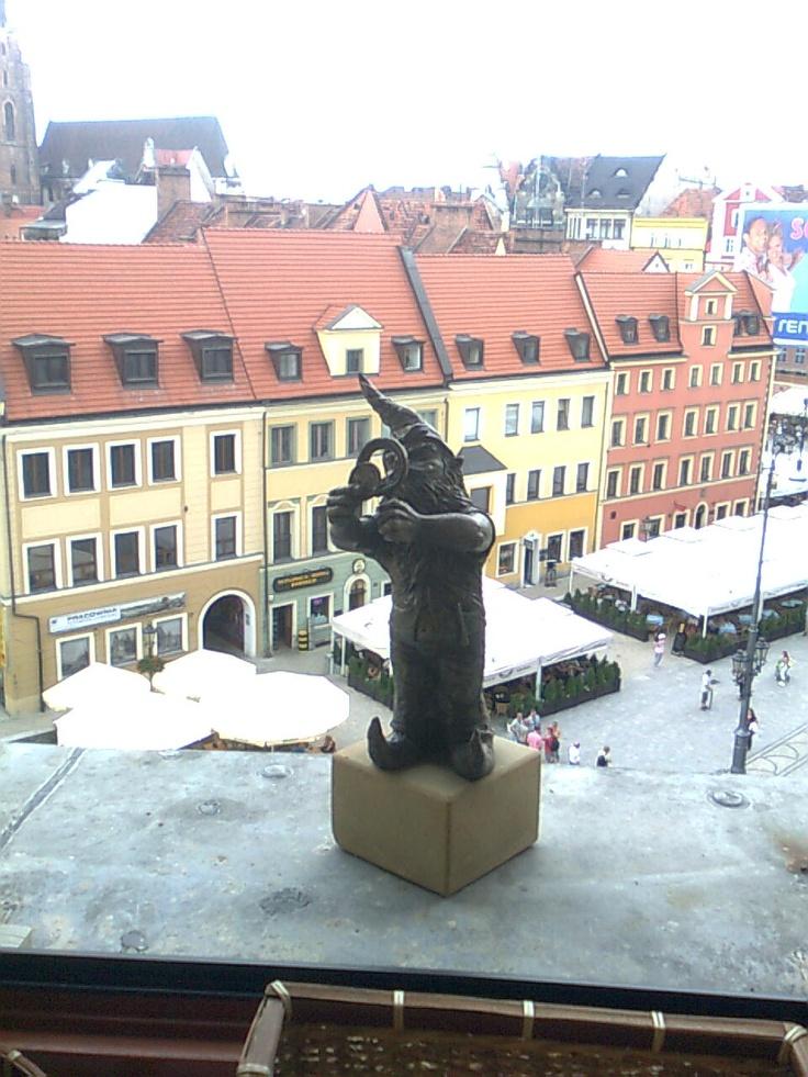 another dwarf in Wrocław