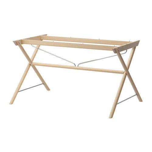 DALSHULT Understell IKEA Massivt tre er et slitesterkt materiale som tåler daglig bruk.