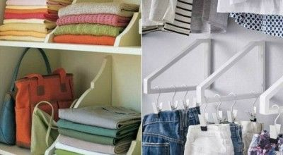 Как правильно складывать вещи в шкафу для идеального порядка