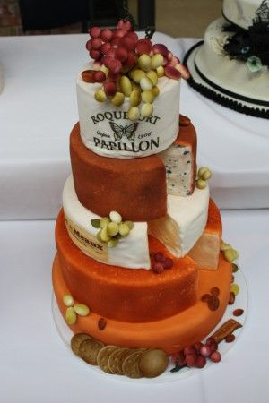 Sourced from @Sweetopia ~ Marian Poirier's blog (from the Bonnie Gordon Cake 2010 Show). I think this cheese cake is HILARIOUS. I absolutely love it!