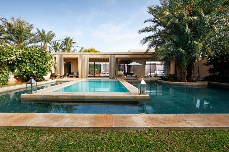 Nathalie O. - Rencontre un Archi Maroc, palais, construction. Palmiers. Style contemporain, moderne. Prenez rendez-vous avec un Archi pour 50€ en cliquant ici.