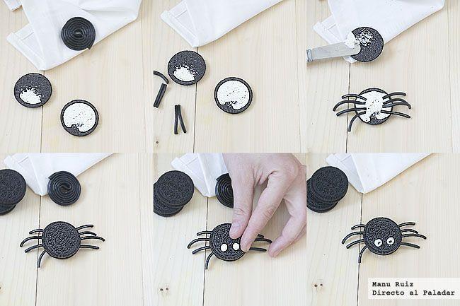 Arañas de Galletas Oreo