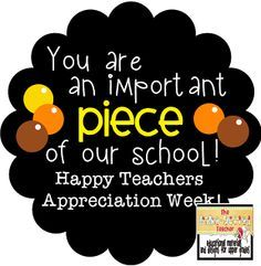 The Polka-dotted Teacher: Teachers/Nurses Appreciation Week Gifts