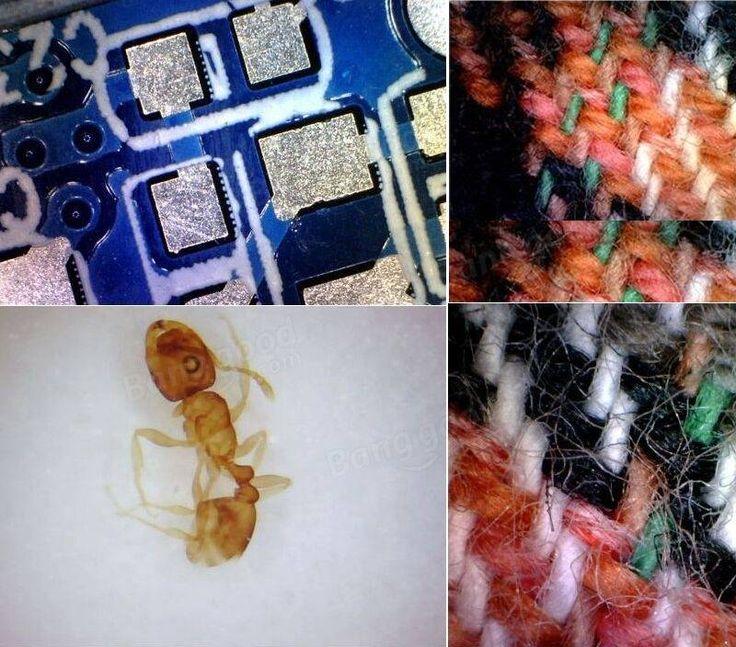 USB 8 LED 50X-500X 2MP Digital Microscope Endoscope Magnifier Video Camera