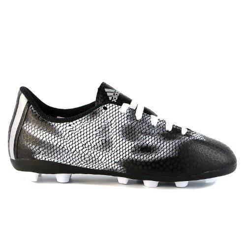 Adidas Performance F5 FXG J Soccer Boots Cleats - Core  Black/Metallic/Silver/