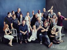 'Batman v. Superman' and 'Suicide Squad': Ben Affleck, Will Smith, Cara Delevingne Pose for THR's Epic Group Photo - The Hollywood Reporter