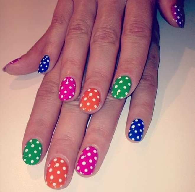 nail art for little girl - Google Search
