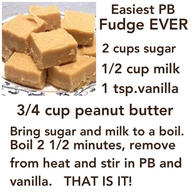 Easy Fudge - substitute the milk for almond milk