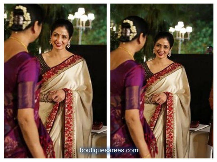 sridevi in sabyasachi saris