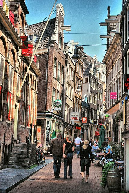 Side street in Amsterdam