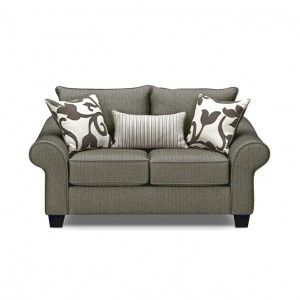 Cool Gray Sleeper Sofa Loveseat