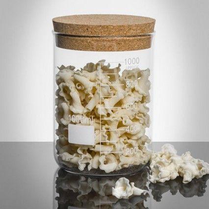 Lab Cork Lid Storage Jar - 1000ml - Jay novelty storage canister