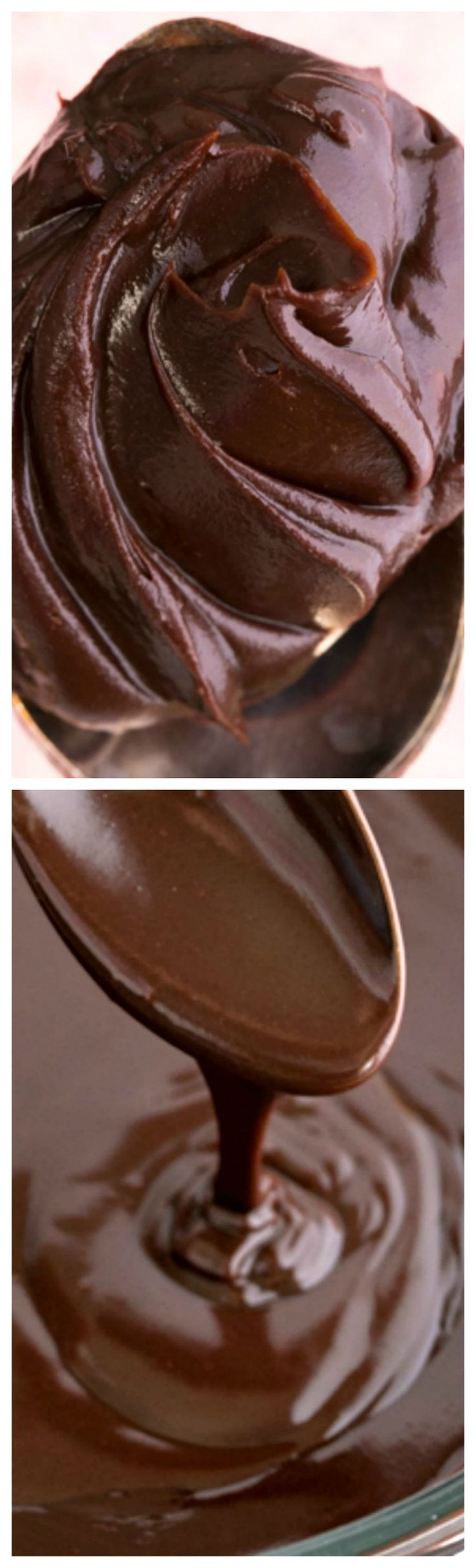 Perfect Chocolate Ganache ~ This is chocolate ganache is really easy and you only need two ingredients! Pour it over cakes or let it cool and frost your cupcakes with it!