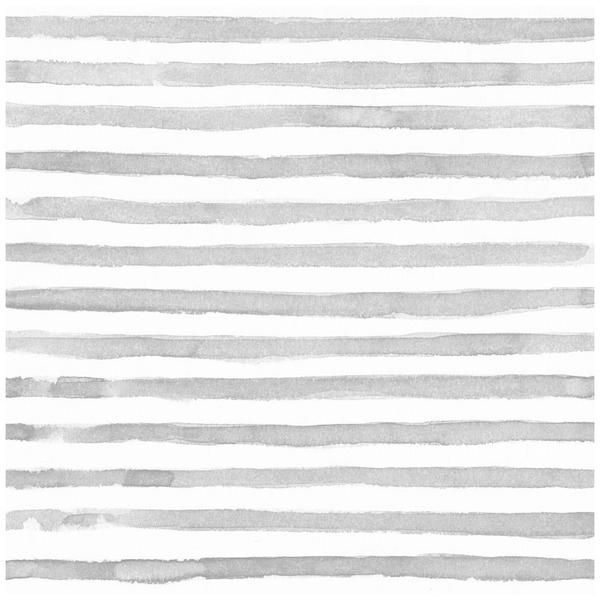 """Watercolor Stripe Pattern Traditional paste and glue application Matte finish  Panels:25""""W x 108""""H Repeat: every 25""""W Quantity refers to number of panels"""