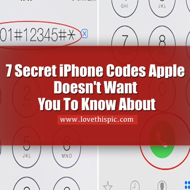 40 best encryption and codes breaking images on pinterest coding 7 secret iphone codes apple doesnt want you to know about fandeluxe Image collections