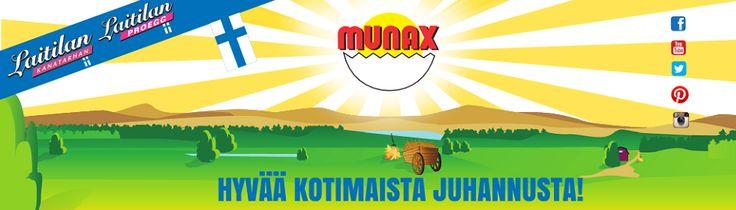 Hyvää kotimaista juhannusta! Olemme aito suomalainen kananmunatoimittaja.