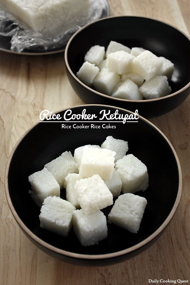 Rice Cooker Ketupat – Rice Cooker Rice Cakes