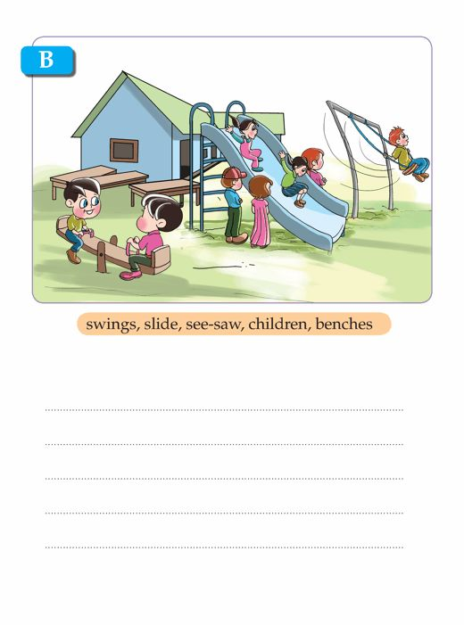 Writing skill - grade 1 - picture composition (8 ...