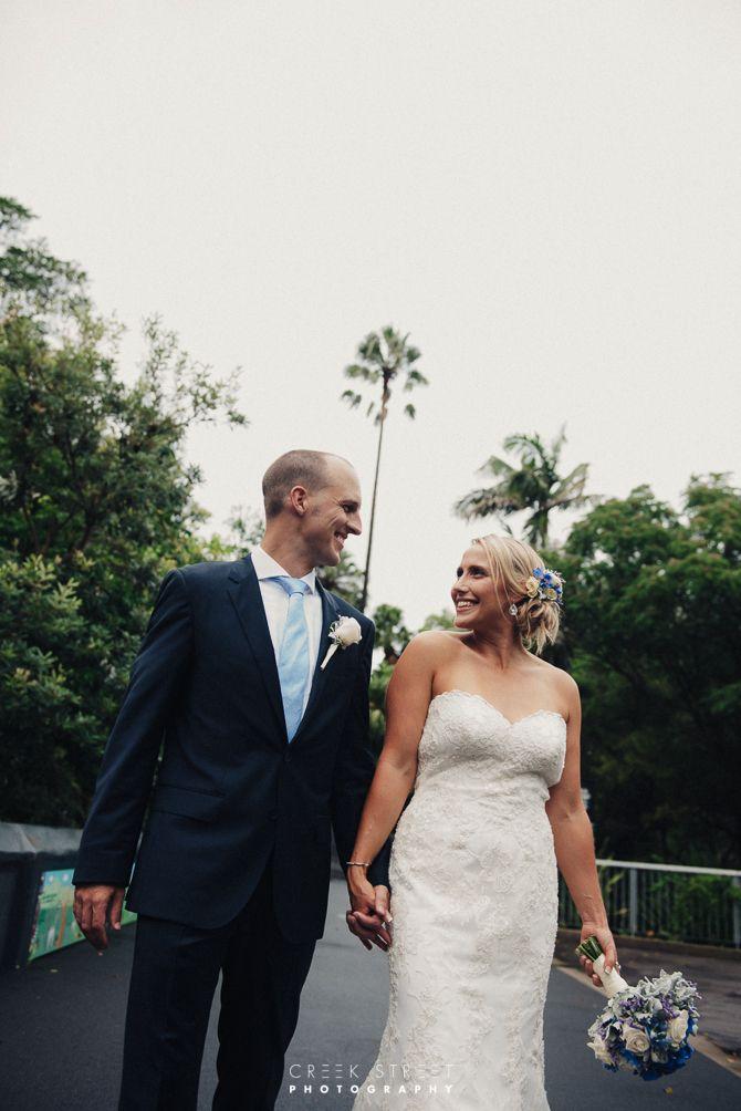 Wedding photography from Taronga Zoo