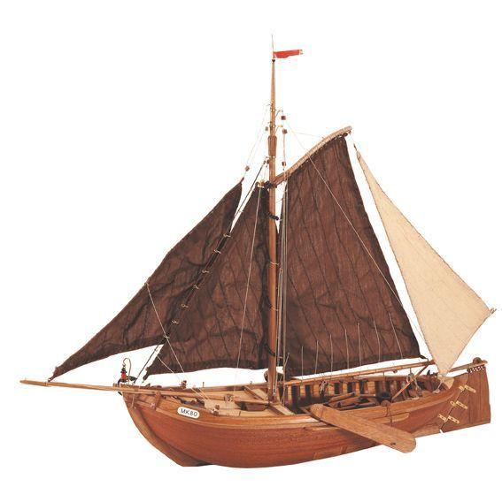 BOTTER - The Botter from the isle of Marken is a tipically Dutch  boat which, for many centuries, sailed the Zuiderzee, later called the Ijsselmeer. // El Botter de la isla de Marken es un barco típico holandés que navegó durante varios siglos en el antiguo Zuiderzee, que actualmente se llama Ijsselmeer.