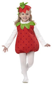 Strawberry Shortcake Toddler Girl Costume Child Fruite | eBay