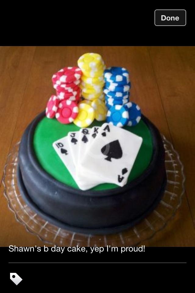 Poker cake decorations uk