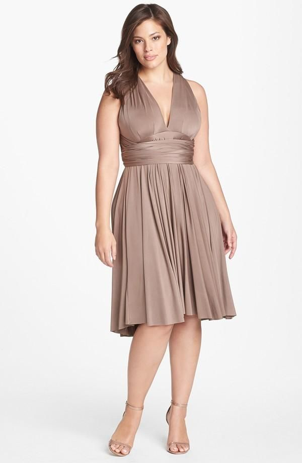 Twobirds bridesmaids in regular and plus sizes - convertible in more than 15 ways!