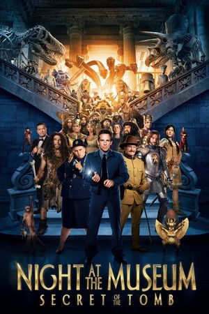 Night at the Museum: Secret of the Tomb poster: