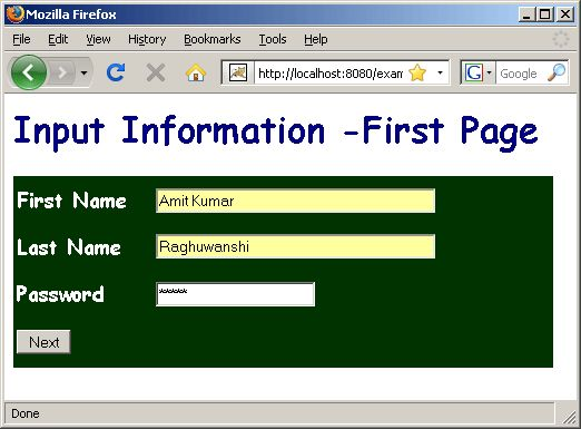 In this java tutorial we are going to discuss on how to pass values from one form to another form using JSP. At the time of developing an application the programmers require to pass some value to many pages in the application. Take an example of shopping cart apps the developer wants that once the user have logged in the forms his name should be displayed in various pages of the application till he log out from it. So, go through the examples of this articles for your better understanding.