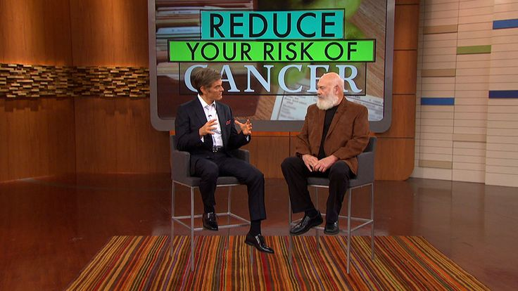 Dr. Andrew Weil on the Benefits on an Anti-Inflammatory Diet: Dr. Andrew Weil talks to Dr. Oz about how following an anti-inflammatory diet can help reduce the risk of cancer.