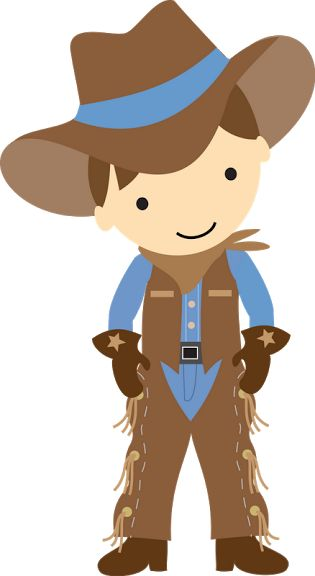 Brown haired cowboy