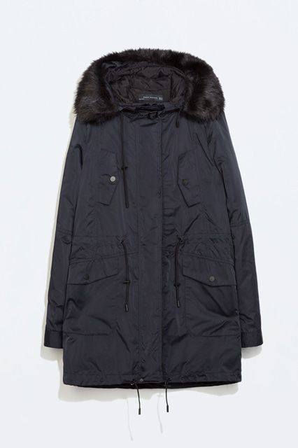 15 Extra-Warm Winter Jackets On Sale Right Now, Because It's Cold  #refinery29  http://www.refinery29.com/hooded-winter-jackets-on-sale#slide-9  Wear it under a wool coat now, and out solo — with or without the faux-fur lining on the hood — come spring.