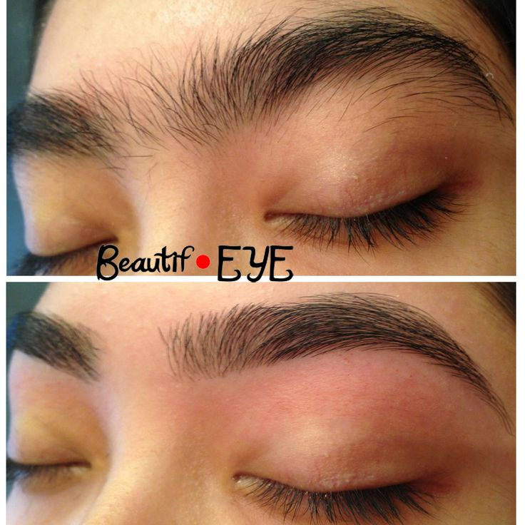 Beautif-EYE Eyebrow Threading Photos Before and After