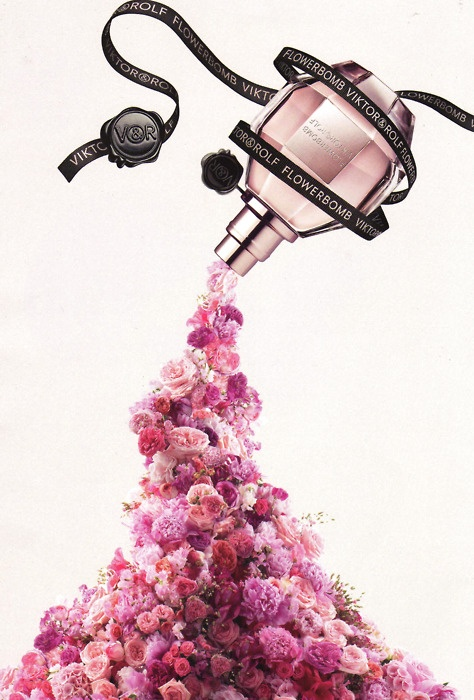 Flowerbomb- Viktor and Rolf. for some reason I love the most girly floral smells