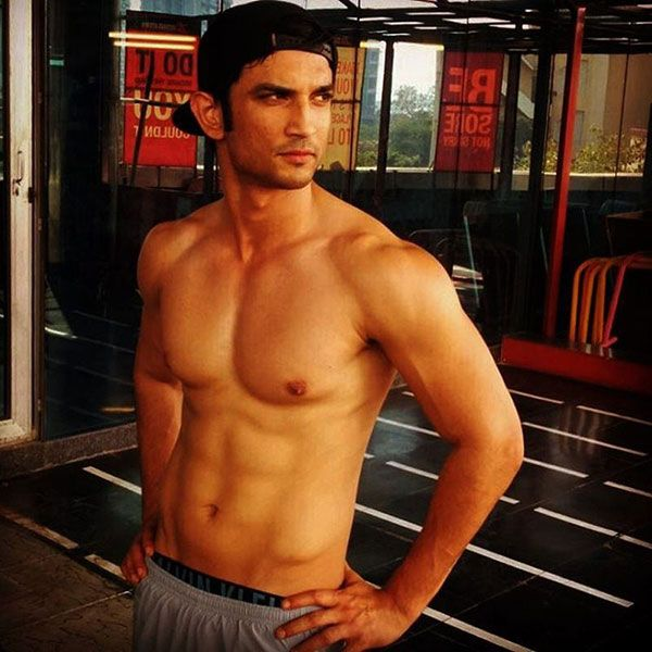 Image result for sushant singh rajput shirtless""