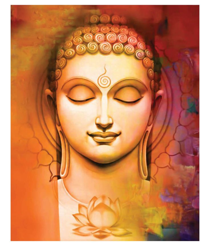 Buddha Canvas Painting India