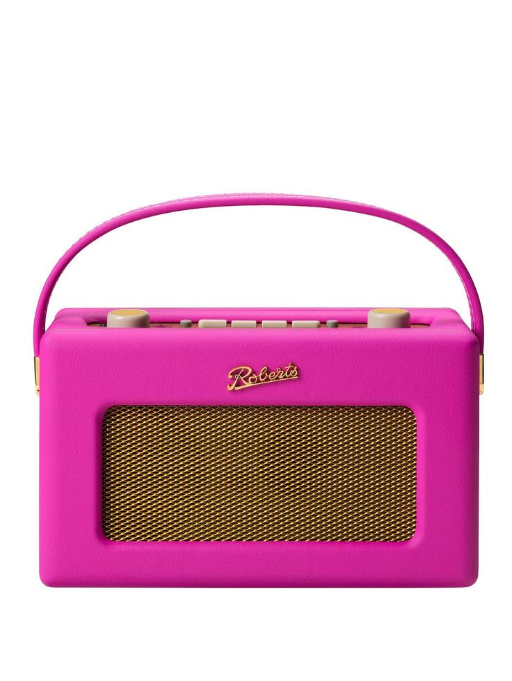 RD60 Tropical Revival DAB/DAM+ FM Digital Radio - Limited Edition Hot Pink, http://www.very.co.uk/roberts-rd60-tropical-revival-dabdam-fm-digital-radio-limited-edition-hot-pink/1427013393.prd