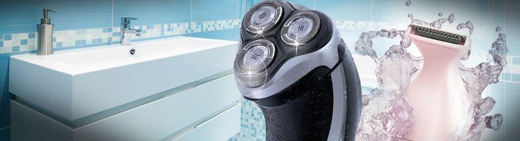 CLEANING 101 – The Bathroom – Men's & Ladies' Shavers and Epilators