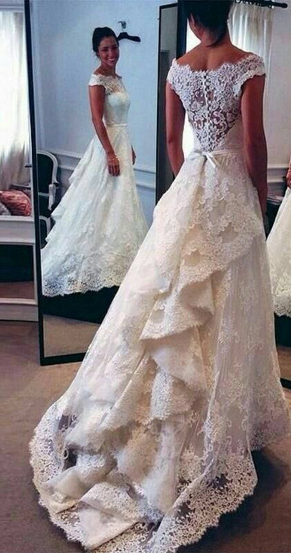 Best 25 vintage lace dresses ideas on pinterest vintage for Vintage lace wedding dress pinterest