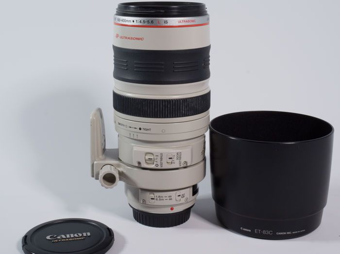 Aktuell in den #Catawiki-Auktionen: Canon Objektiv EF 100-400mm f/4.5-5.6 L IS USM