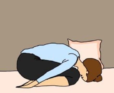 Des étirements de yoga pour bien dormir la nuit
