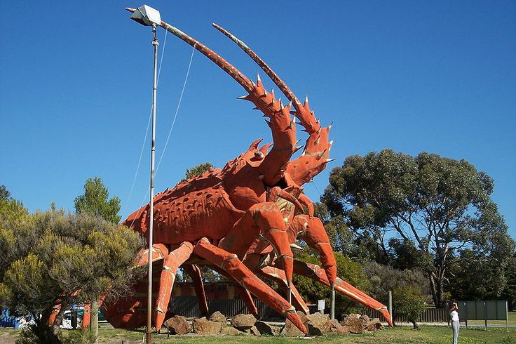 "The Big Lobster, Kingston, SA, Australia. Known as ""Larry""."