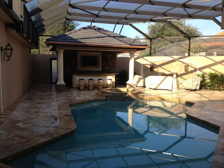 Great pool and deck patio pool deck ideas pinterest for Great pool ideas