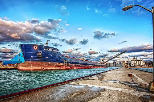 Algoma Mariner at Goderich Harbour
