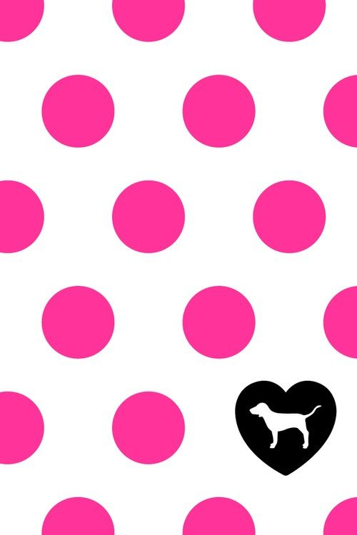 The legendary pink dots. (For those old enough to remember that ad. )
